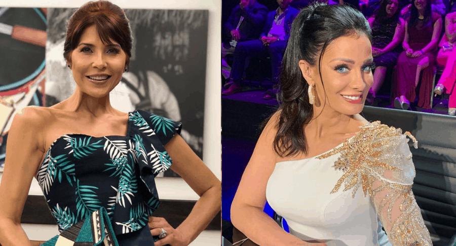 Lorena Meritano y Dayanara Torres