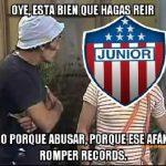 Memes del Atlético Junior en Copa Libertadores