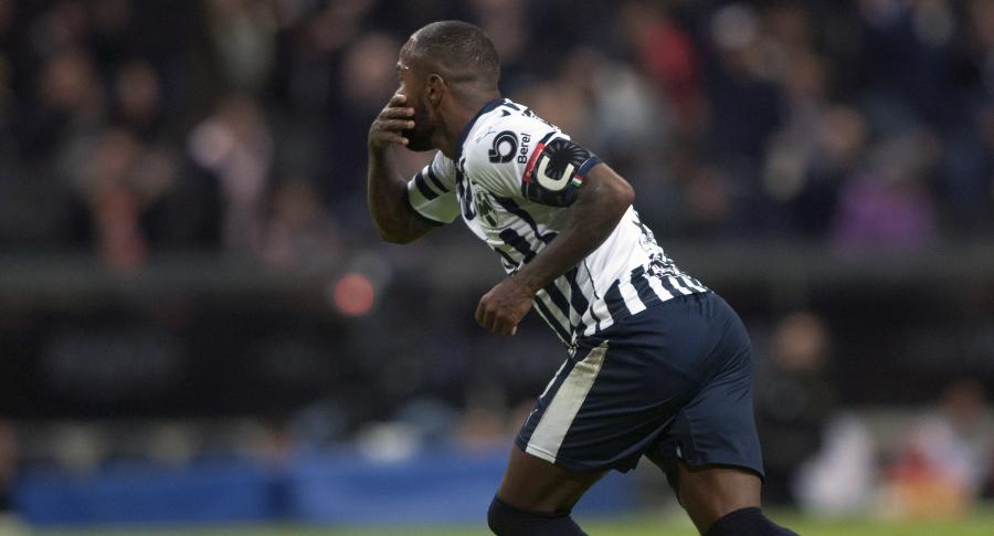 Dorlan Pabón celebra su gol al Atlanta United
