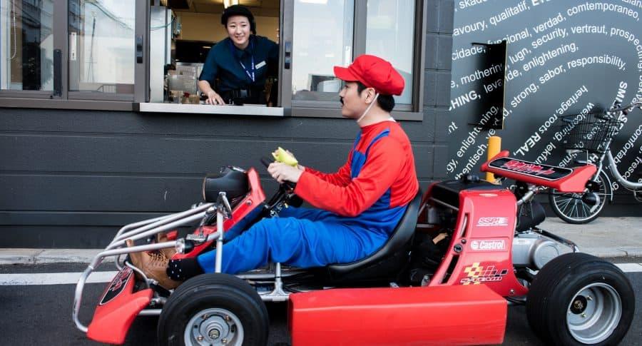Evento promocional de Mario Kart