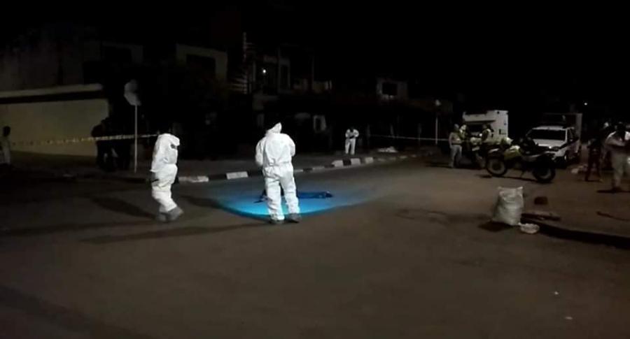 Mujer baleada en calle de Cali sobrevivió
