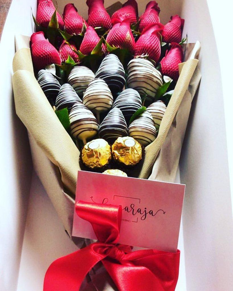 Chocolates para el día de la mujer