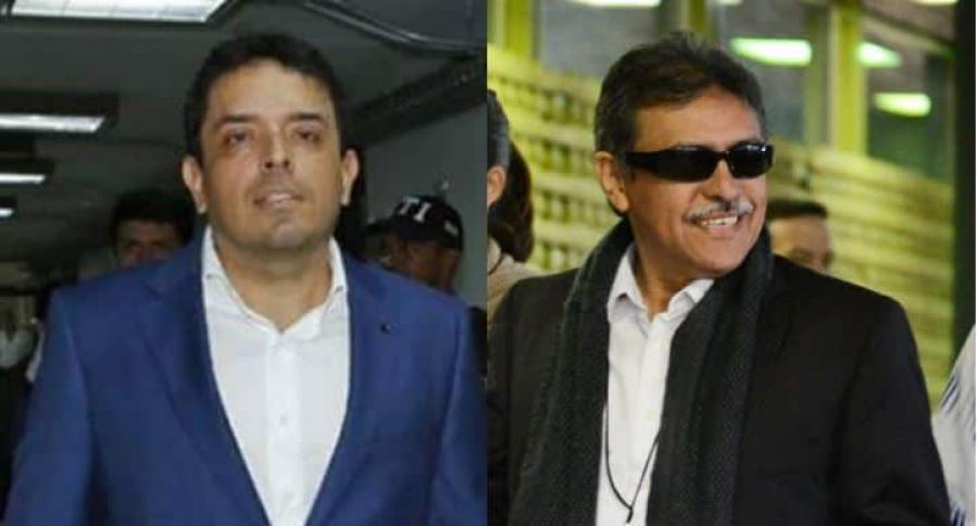 Carlos Bermeo y 'Jesús Santrich'