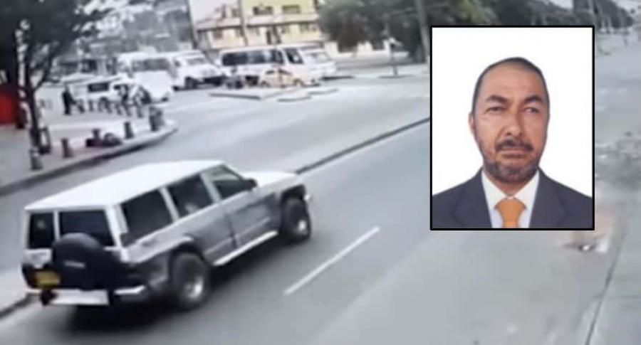 Carro bomba y José Aldemar Rojas
