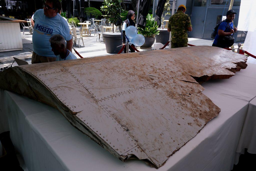 Fragmento del ala del MH370 hallado en la isla Pemba