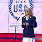 Susanne Lyons, presidenta del Comité Olímpico de EE. UU.