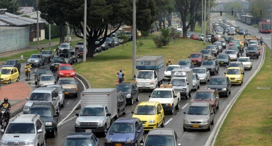 Imagen de referencia vehículos en Bogotá