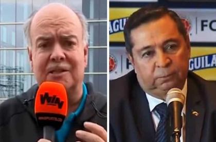 Iván Mejía y Álvaro González Alzate