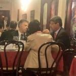 Almuerzo entre Santos y magistrados de la Corte Constitucional