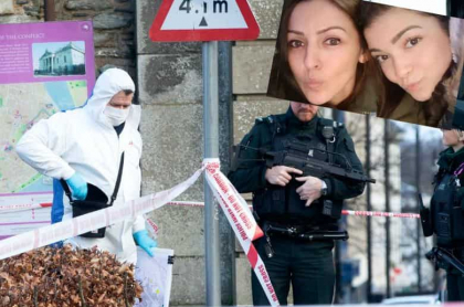 Crimen de colombiana en Irlanda