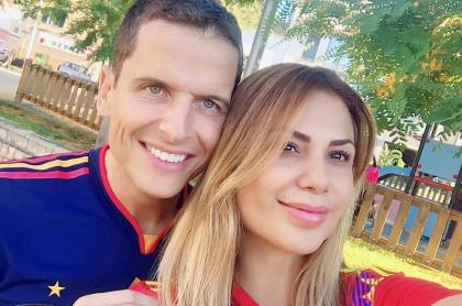 Sergio Faggianii y Angeline Moncayo