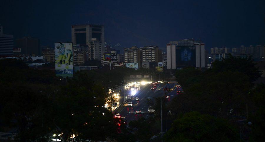 Apagón en Caracas