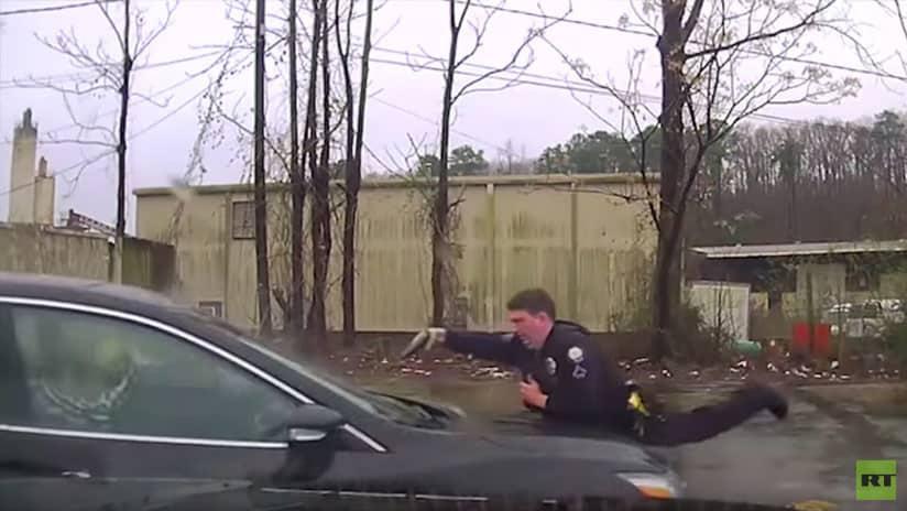 Policía de EEUU dispara