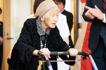 Mujer más vieja del mundo.