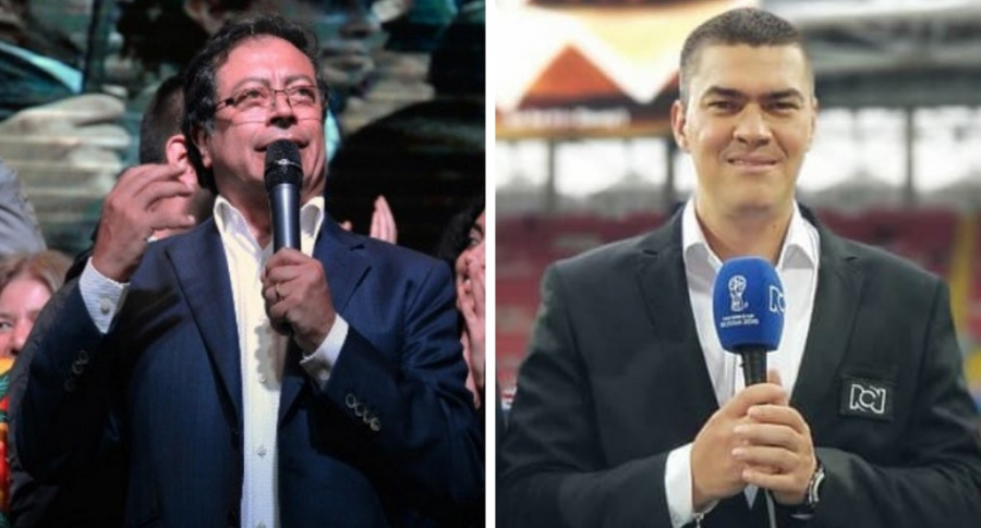 Gustavo Petro y Eduardo Luis