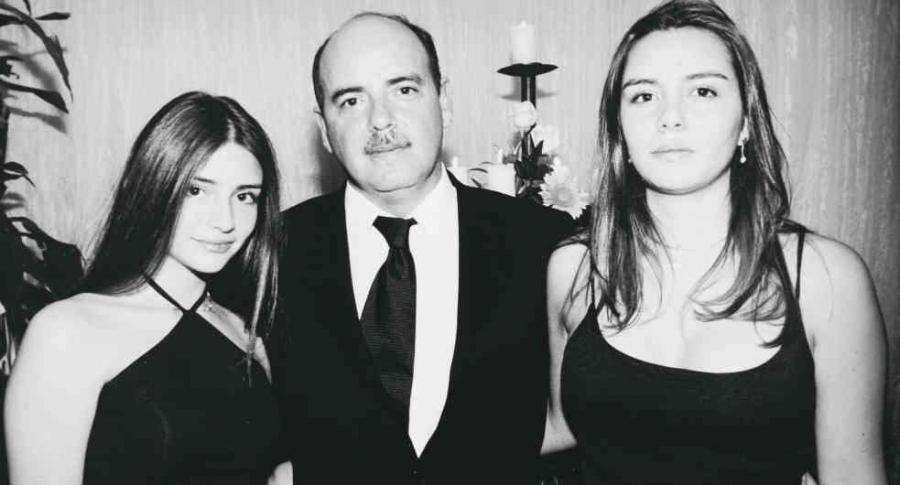 Ana María, Fernando y Luisa Fernanda Gaitán