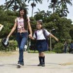 Estudiante venezolana