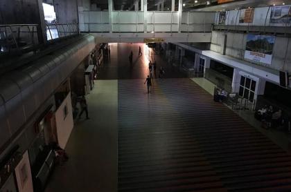 Aeropuerto Maiquetía sin luz