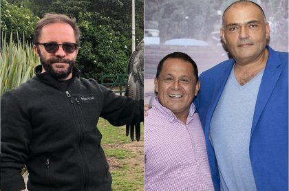 Pirry, presentador; Luis Eduardo Díaz, exconcejal; y Enrique Carriazo, actor.