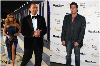 Jennifer Lopez y Alex Rodriguez /Jose Canseco