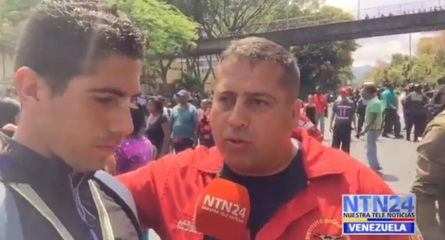 Intimidación a periodista de NTN