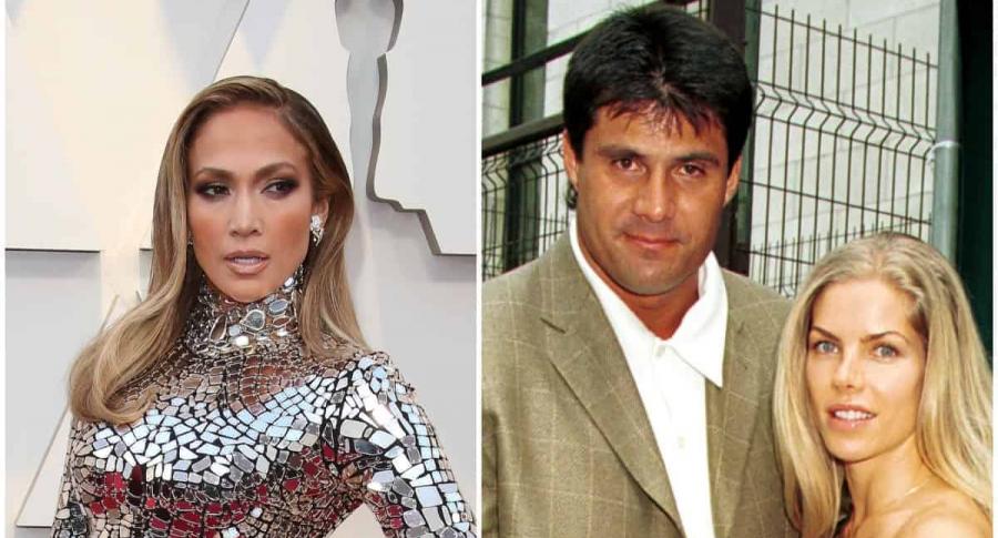 Jennifer Lopez / Jose y Jessica Canseco