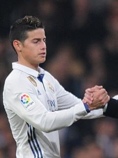 Definida la fecha en la que James volverá a entrenar con Zidane y el Real Madrid