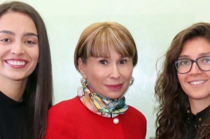 Isabella Echeverri, Alicia Arango y Natalia Gaitán