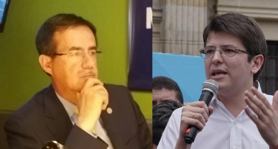 Celio Nieves y Miguel Uribe