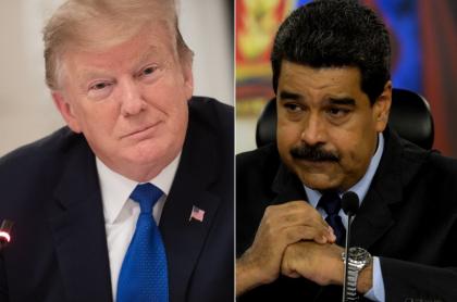 Trump y Maduro