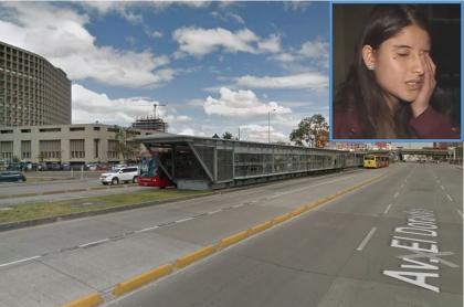 Laura Fernanda Pedraza denunció robo y abuso saliendo de estación de Transmilenio