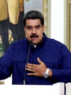 Maduro dice que Trump le hace a Venezuela lo que Hitler le hizo a los judíos