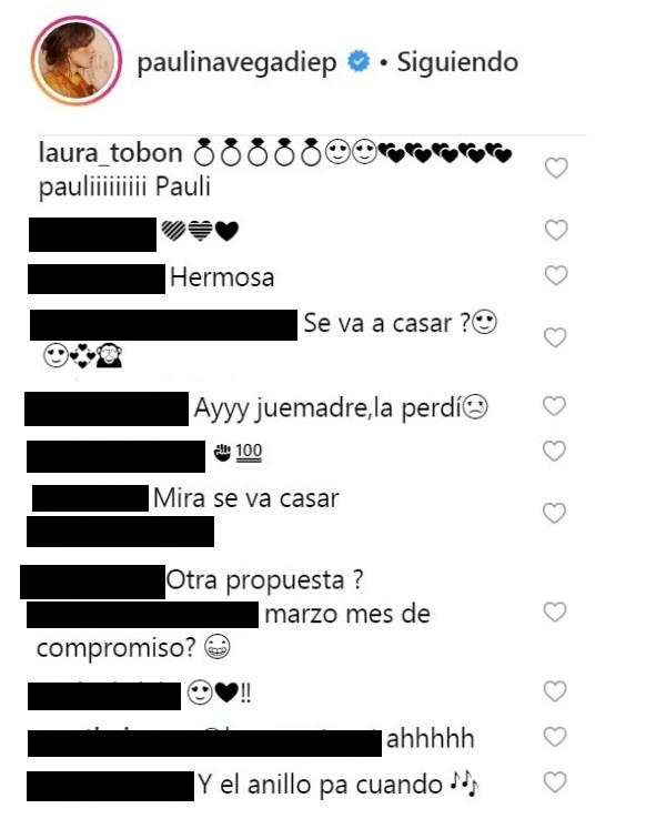 Comentarios post Paulina Vega