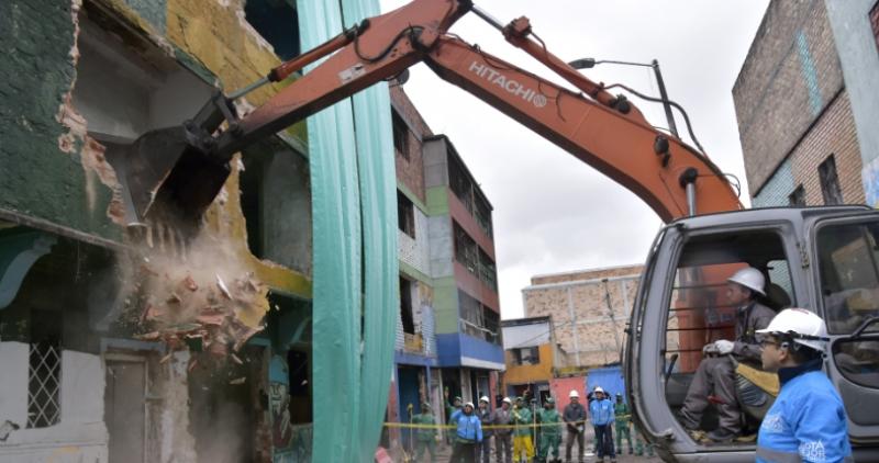 Demolición Bogotá