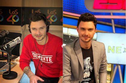 Diego Sáenz, locutor y presentador.