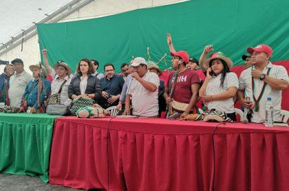 Mesa de diálogo en Cauca