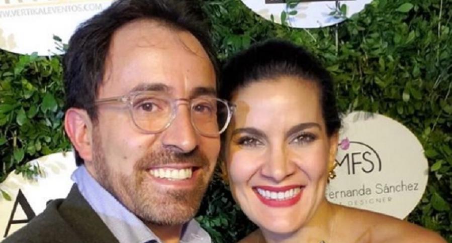 Vanessa de la Torre y su esposo, Diego Santos