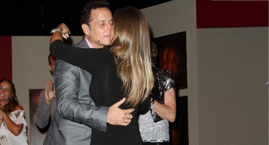 Alexis Ayala y su esposa Fernanda López, actores.