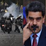 Guardia Nacional Bolivariana y Nicolás Maduro