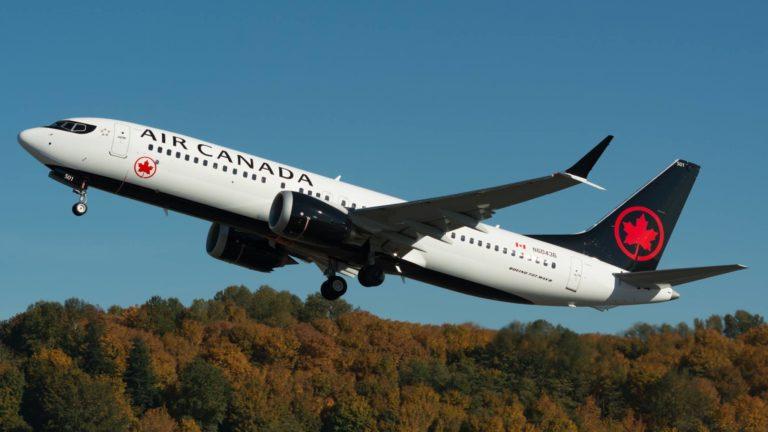 Boeing 737 MAX de Air Canada