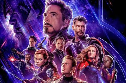 Póster 'Avengers: endgame'