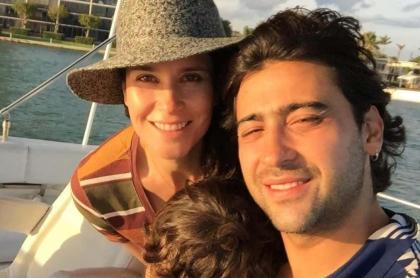 Variel Sánchez y Estefanía Godoy, actores.