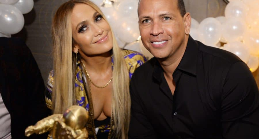 Jennifer López y Alex Rodriguez