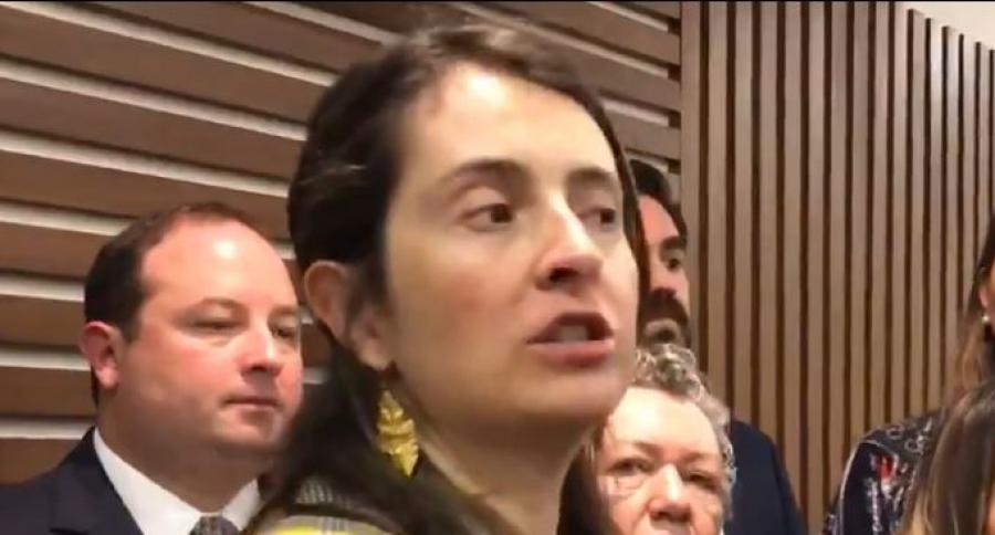 Paloma Valencia explica sus ataques a Pablo Catatumbo