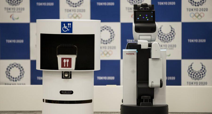 Robots voluntarios para los Juegos Olímpicos 2020