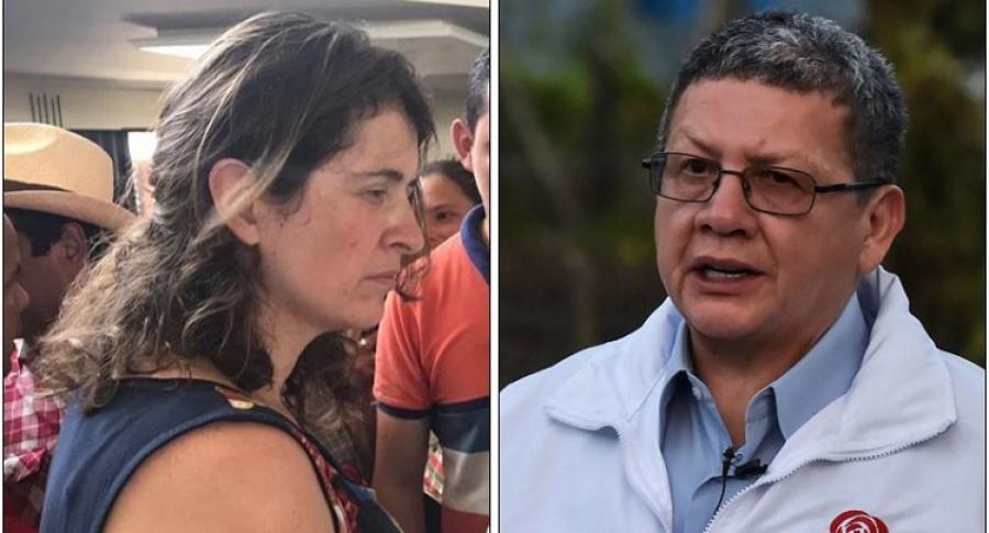 Paloma Valencia y 'Pablo Catatumbo'