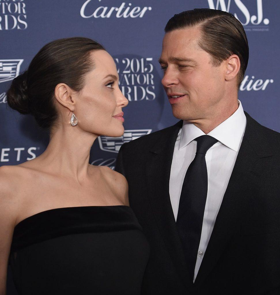 Angelina Jolie y Brad Pitt, actores.