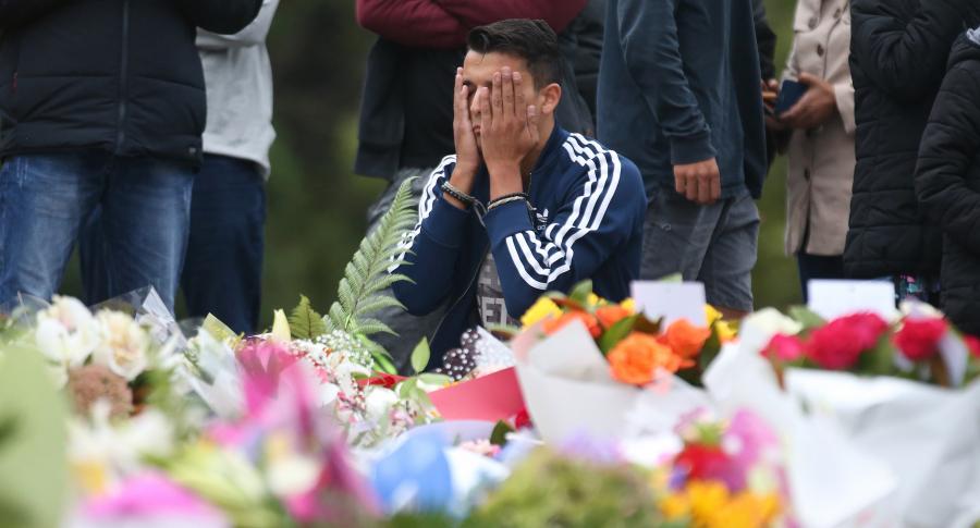 Homenaje a víctimas del atentado de Christchurch