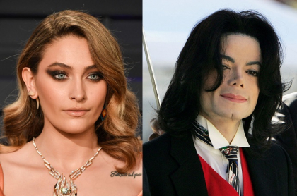 Paris Jackson y Michael Jackson