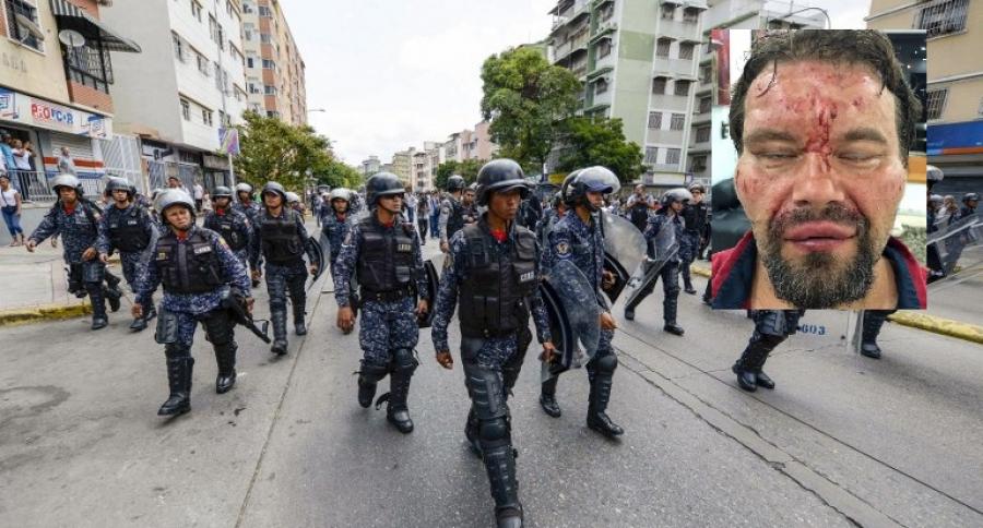 Policía chavista